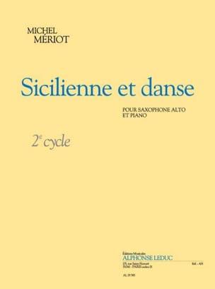 Sicilienne Et Danse - Michel Mériot - Partition - laflutedepan.com
