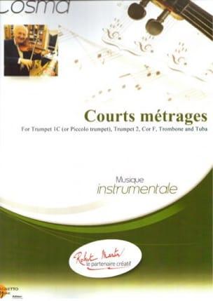 Courts Métrages Vladimir Cosma Partition laflutedepan