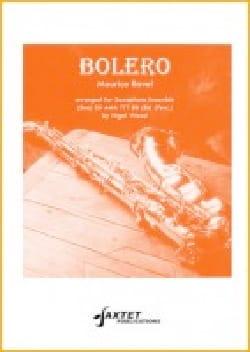 Bolero RAVEL Partition Saxophone - laflutedepan