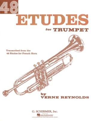 48 Etudes Verne Reynolds Partition Trompette - laflutedepan