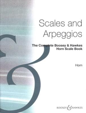 The Complète Horn Scale Book Partition Cor - laflutedepan