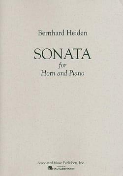 Sonata Bernhard Heiden Partition Cor - laflutedepan