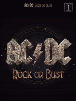 AC-DC - Rock Or Bust - Partition - di-arezzo.co.uk