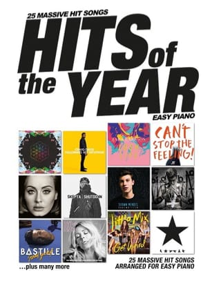 Hits Of The Year 2016 - Easy Piano Partition laflutedepan