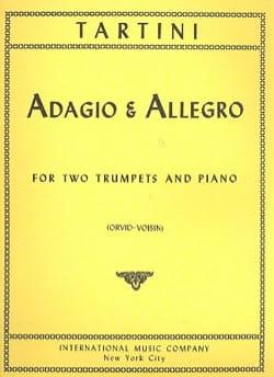 Adagio & Allegro TARTINI Partition Trompette - laflutedepan