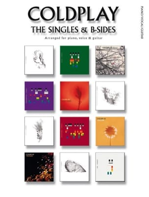 The Singles & B-Sides - Coldplay - Partition - laflutedepan.com
