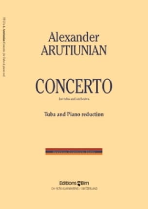 Concerto - Alexander Arutiunian - Partition - Tuba - laflutedepan.com