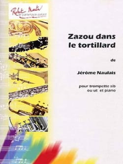 Zazou dans le Tortillard Jérôme Naulais Partition laflutedepan
