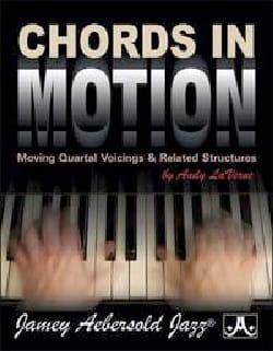 Chords In Motion METHODE AEBERSOLD Partition Harmonie - laflutedepan