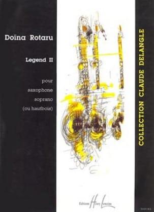 Legend II Doïna Rotaru Partition Saxophone - laflutedepan