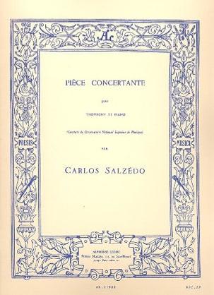 Pièce Concertante - Carlos Salzedo - Partition - laflutedepan.com