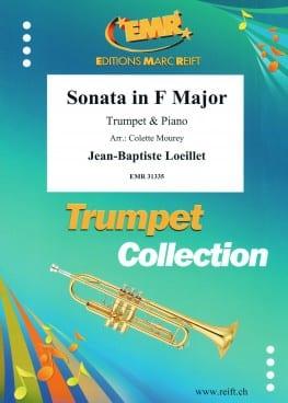 Sonate en Fa LOEILLET Partition Trompette - laflutedepan