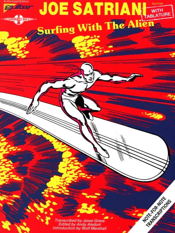 Surfing With The Alien - Joe Satriani - Partition - laflutedepan.com