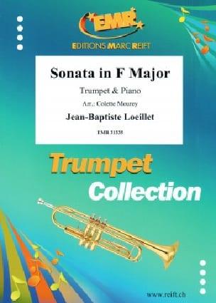 Sonate en Fa - LOEILLET - Partition - Trompette - laflutedepan.com