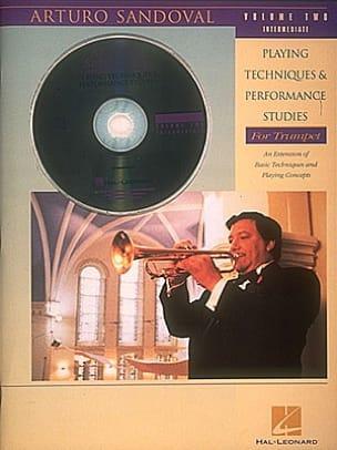 Playing Techniques Volume 2 Arturo Sandoval Partition laflutedepan