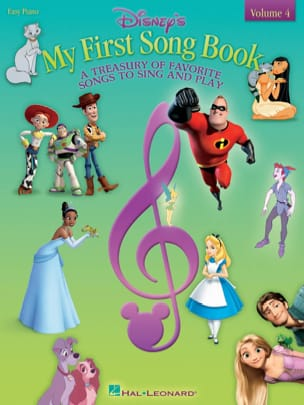 My first songbook volume 4 - easy piano DISNEY Partition laflutedepan