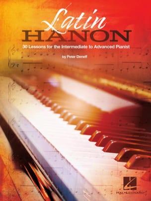 Latin Hanon Peter Deneff Partition Piano - laflutedepan