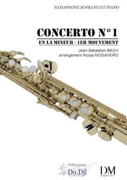 Concerto N° 1 en La mineur pour violon et orchestre - 1er mouvement laflutedepan