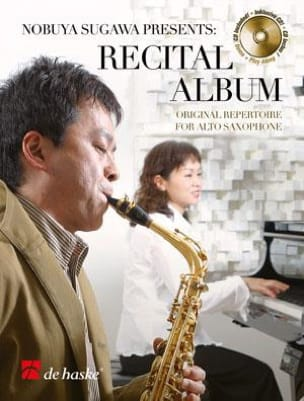 Recital album Partition Saxophone - laflutedepan