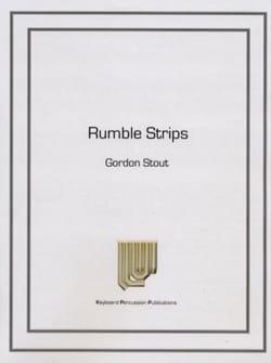 Rumble Strips Gordon Stout Partition Marimba - laflutedepan
