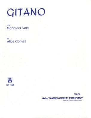 Gitano Alice Gomez Partition Marimba - laflutedepan