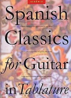 Spanish Classics For Guitar In Tablatures ALBENIZ laflutedepan