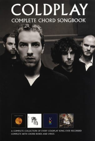 Complete Chord Songbook Coldplay Partition Pop / Rock - laflutedepan