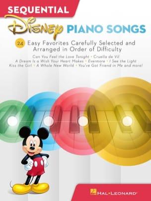 DISNEY - Sequential Disney Piano Songs - Easy Piano - Partition - di-arezzo.com
