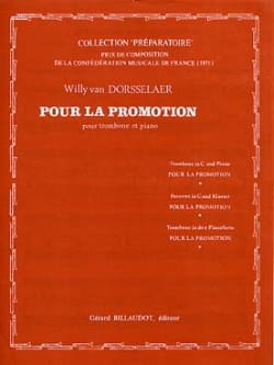 Pour la Promotion Dorsselaer Willy Van Partition laflutedepan