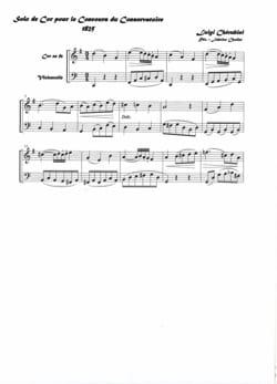 Solo de cor - CHERUBINI - Partition - Cor - laflutedepan.com