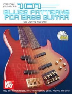 101 Blues patterns for bass guitar Larry McCabe Partition laflutedepan