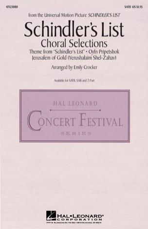 La Liste de Schindler - Musique du Film pour Chorale laflutedepan