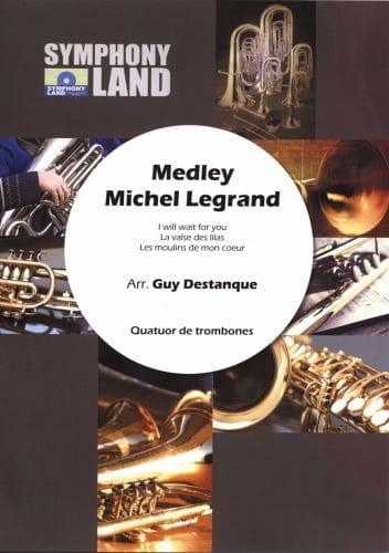 Medley Michel Legrand pour Quatuor de Trombones - laflutedepan.com