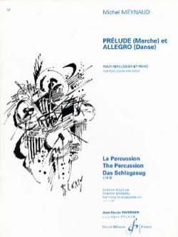 Prélude Marche Et Allegro Danse Michel Meynaud Partition laflutedepan