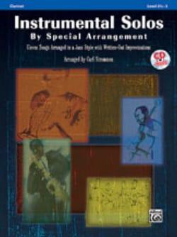 Instrumental solos by special arrangement Partition laflutedepan