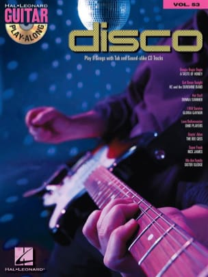 Guitar Play-Along Volume 53 - Disco Partition Guitare - laflutedepan