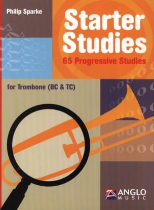 Starter studies Philip Sparke Partition Trombone - laflutedepan