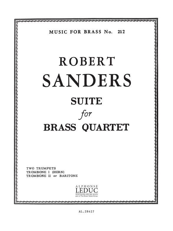 Suite - Robert Sanders - Partition - laflutedepan.com
