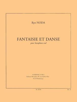 Fantaisie et danse Ryo Noda Partition Saxophone - laflutedepan
