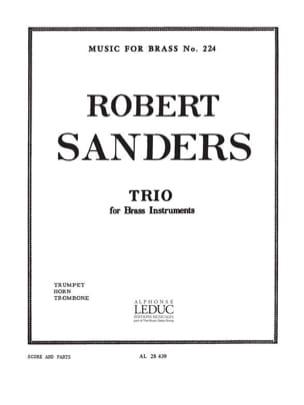 Trio Sanders Partition Ensemble de cuivres - laflutedepan