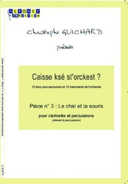 Caisse Ksé St'orckest ? Pièce N° 03 le Chat Et la Souris laflutedepan