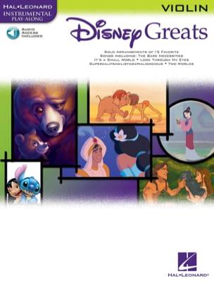 Disney greats DISNEY Partition Violon - laflutedepan