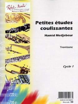 Petites Etudes Coulissantes Hamid Medjebeur Partition laflutedepan