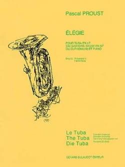 Elegie Pascal Proust Partition Tuba - laflutedepan