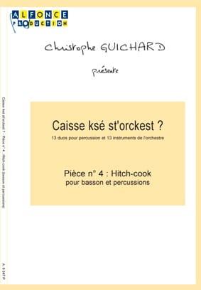 Caisse Ksé St'orckest ? Pièce N° 04 Hitch-Cook laflutedepan
