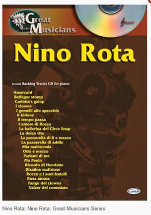 Série Great Musicians ROTA Partition Musique de film - laflutedepan