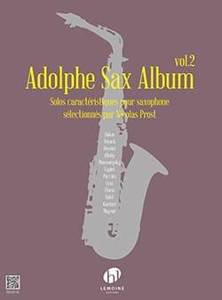 Adolphe Sax Album - Volume 2 Partition Saxophone - laflutedepan