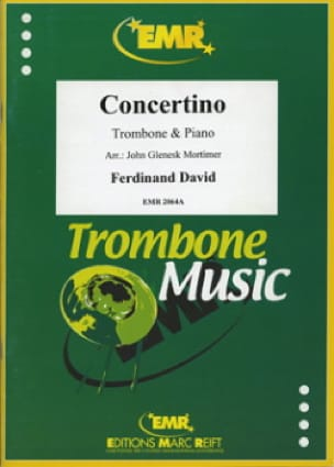 Concertino - Ferdinand David - Partition - Trombone - laflutedepan.com