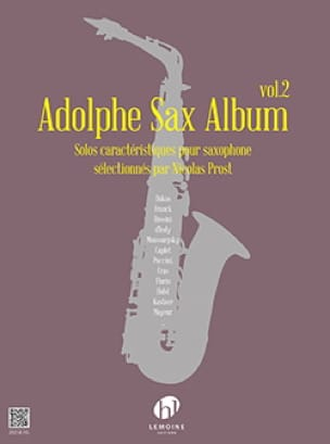 Adolphe Sax Album - Volume 2 - Partition - laflutedepan.com