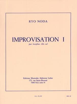 Improvisation 1 Ryo Noda Partition Saxophone - laflutedepan